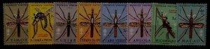 Portugal col. MNH Malaria, 8val.,SCV16
