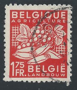 Belgium #377 1.75fr Agriculture