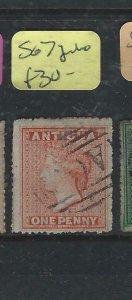 ANTIGUA   (PP0807B)  QV  1 D  SG 7   JUMBO   VFU