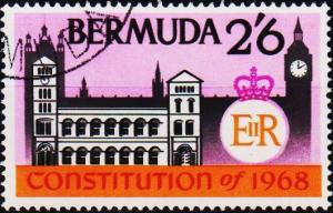 Bermuda. 1968  2s6d  S.G.219  Fine Used