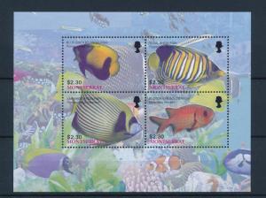 [40597] Montserrat 2004 Marine Life Fish MNH Sheet