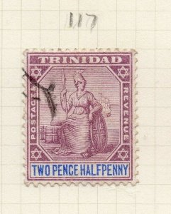 Trinidad 1902-03 Early Issue Fine Used 2.5d. 284522