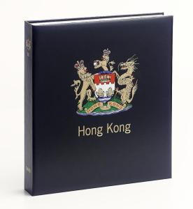 DAVO Luxe Hingless Album Hong Kong III (GB) 1990-1997