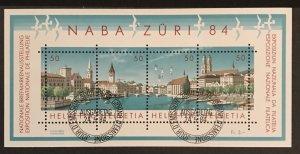 Switzerland 1984 #749, Used, CV $5.50