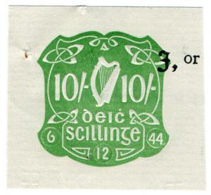 (I.B) Ireland Revenue : Impressed Duty 10/-