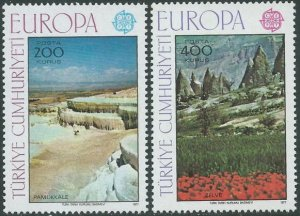 Turkey 1977 #2051-2 MNH. Europa
