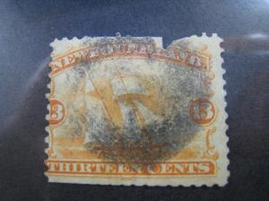 NEWFOUNDLAND - SCOTT # 30 -  Used
