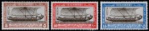 Egypt Scott 118-120 (1926) Mint H VF Complete Set, CV $10.50 C