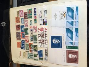 Collection Germany & DDR Mint & Used 190 stamps,4 SS&4Bklt Panes  2015 Sc $440.