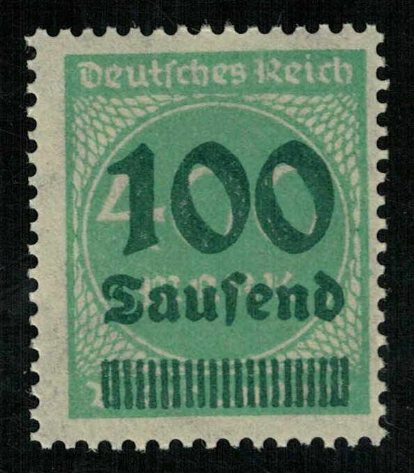 Reich, 100Th/400 Mark, Germany (3525-T)
