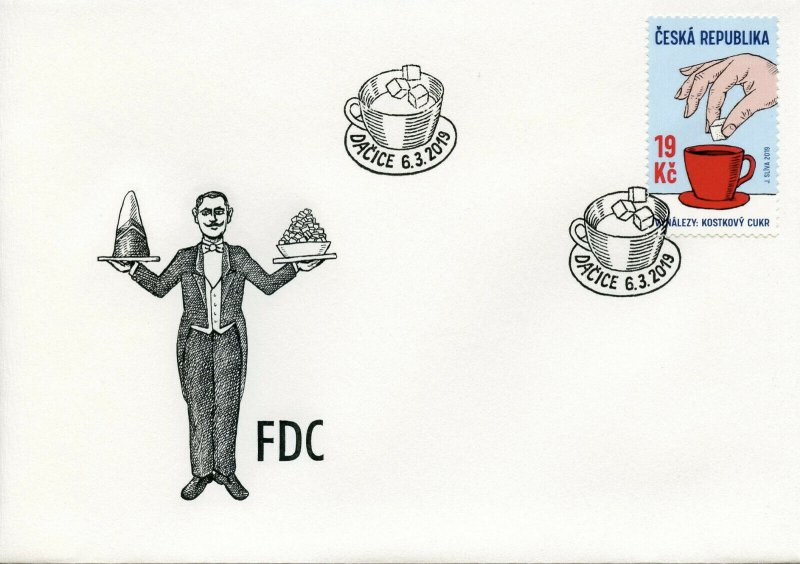 Czech Republic 2019 FDC Sugar Cube Czech Invention 1v Set Cover Stamps
