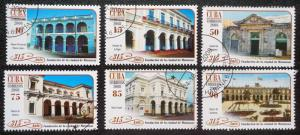 CUBA Sc# 4914-4919  MATANZAS FOUNDATION  Cpl set of 6  2008  used / cancelled