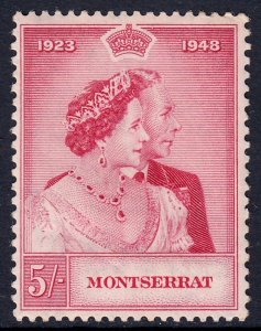 Montserrat - Scott #107 - MNH - Crease, perf fault UR - SCV $9.25