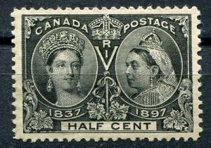 Canada #50 Mint XF intense color