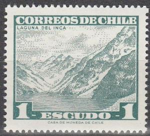 Chile  #329A    MNH  (S7347)