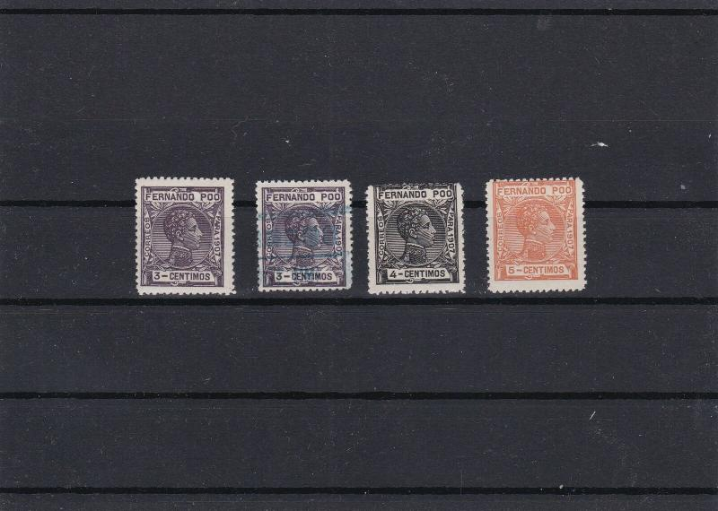 Fernando Poo 1907 Mint Never Hinged Stamps Ref 26116