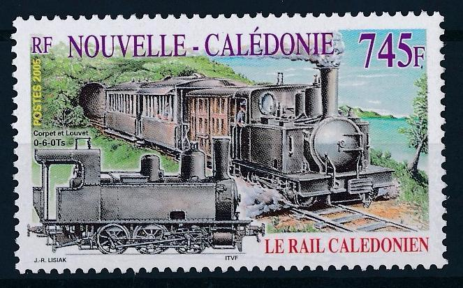 [63559] New Caledonia 2005 Railway Train Eisenbahn Chemin de Fer  MNH