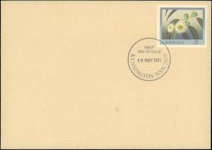 Australia, Postal Stationery, Worldwide First Day Cover, Flowers