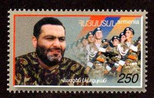 ARMENIA 604 MNH SCV $2.50 BIN $1.50 MILITARY