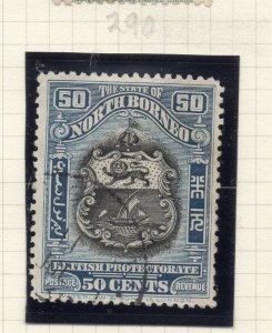 North Borneo 1925 Early Issue Fine Used 50c. 281373