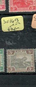 MALAYA  FMS (P1612B)   TIGER  3C    SG 16B      MOG