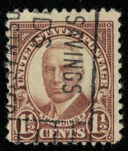 USA, 11/2 cents, Harding (Т-5656)