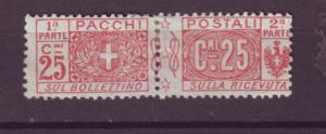J21504 Jlstamps 1914-22  italy mng #q10 parcel post