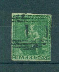 Barbados sc# 5a used cat value $125.00