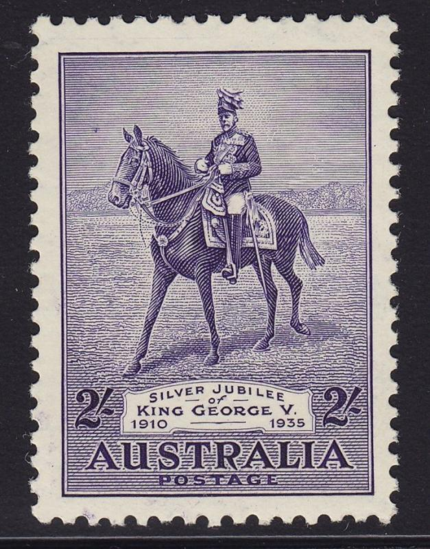 Australia Scott # 154 VF OG mint never hinged cv $ 85 ! see pic !