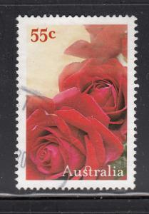 Australia 2009 used Scott #3023 55c Roses