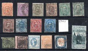 Italy unchecked stamp collection WS18420