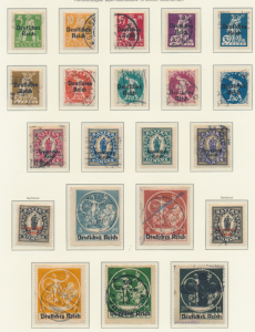 Bavaria (German State) Stamps Scott #256 To 271, Used - Free U.S. Shipping, F...