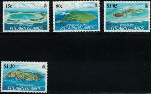 Pitcairn Islands SC327-330 TheIslands:PucieIslHendersonIs.OrenoIs-PitcairnIs1989