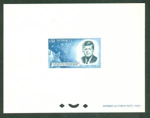 XL item Monaco 596 MNH souv sheet (imperf) Ceres CV $700