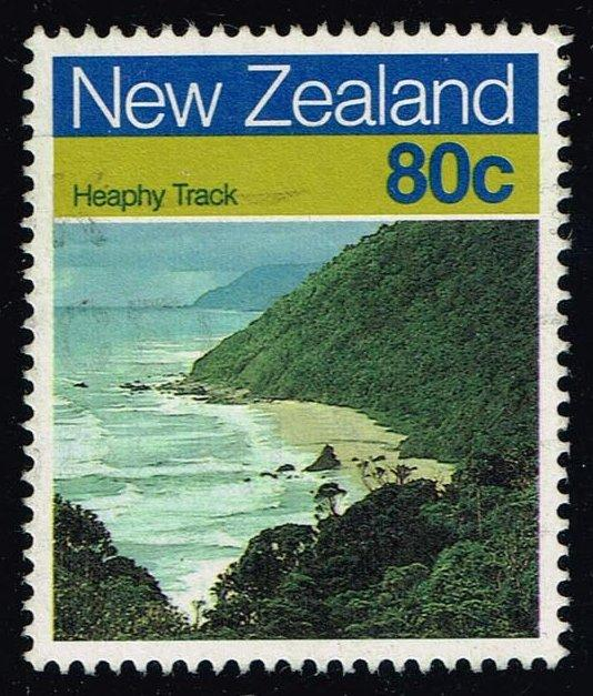 New Zealand #904 Heaphy Track; Used (0.85)