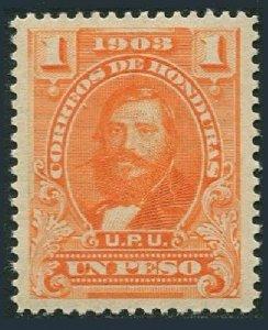 Honduras 118, MNH. Michel 100. General Santos Guardiola, 1903.