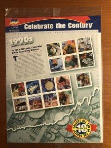 US #3182-3191 MNH - Celebrate the Century