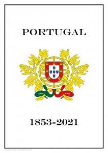 PORTUGAL 1853 - 2021  PDF PDF(DIGITAL) STAMP ALBUM PAGES