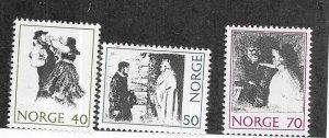 Norway #579-581   (MNH)   CV $2.10