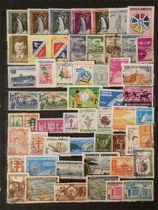 DOMINICAN REPUBLIC Stamp Lot Used T8032