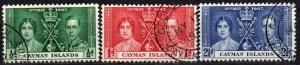 Cayman Islands #97-9 F-VF Used CV $2.70 (X1071)