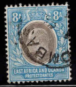 East Africa and Uganda protectorates  Scott 24 KEVII nice color and centering