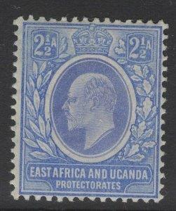KENYA, UGANDA & TANGANYIKA SG20 1904 2½a BLUE MTD MINT