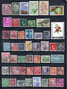 WORLDWIDE  Various stamps