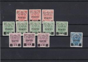 Yugoslavia Mounted Mint 1919 Postage Due Stamps Ref 31026