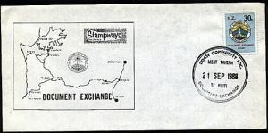 NEW ZEALAND 1988 Stampways Doc Exchange 30c on cover.......................95124