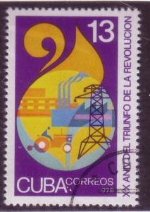 Cuba Sc. # 2124 CTO