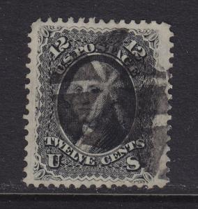 69 VF+ used big margins neat cancel with nice color ! see pic !