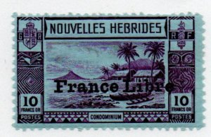 French New Hebrides 78 Mint never hinged
