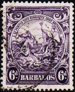 Barbados. 1938 6d S.G.254 Fine Used